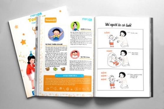 NUTRICARE hân hạnh mang thêm quà, thêm niềm vui, thêm hạnh phúc cho mẹ với MarryBaby Toddler Handbook