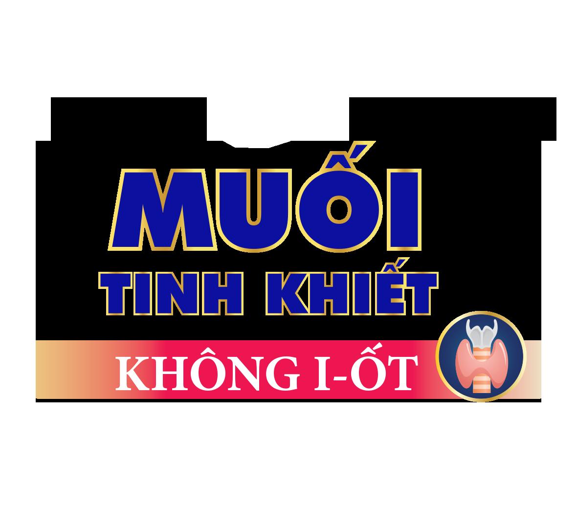 MUỐI KHÔNG I-ỐT