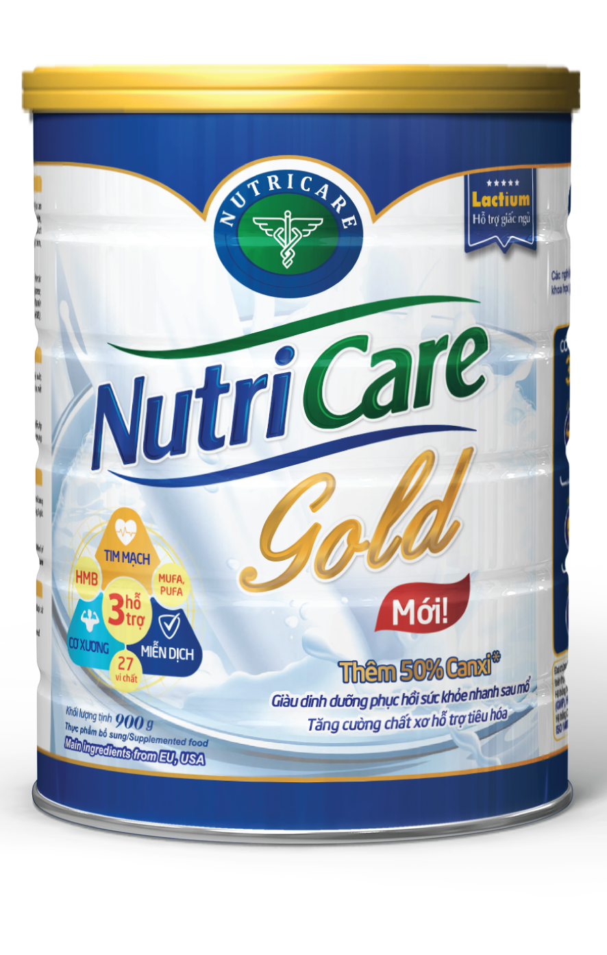 NUTRICARE GOLD - Nutricare - Thương hiệu quốc gia Dinh dưỡng Y học