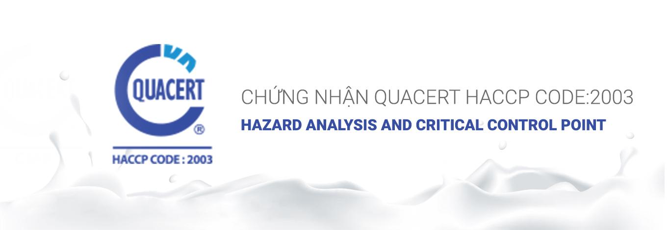 Chứng Nhận HACCP CODE:2003