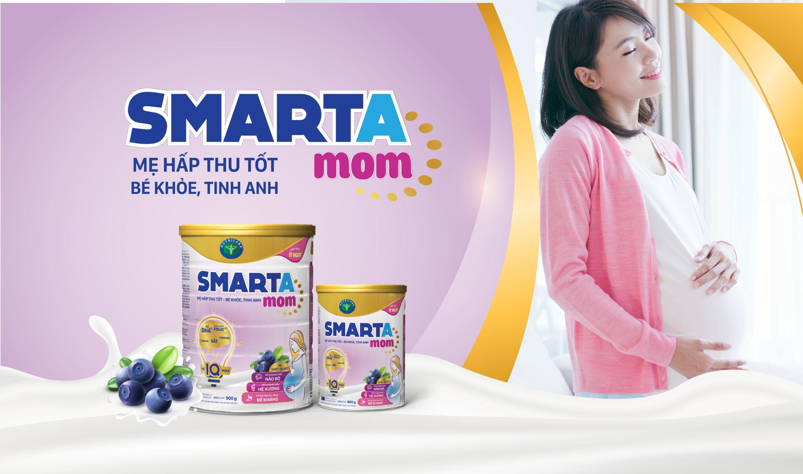 Smarta Mom - Giải pháp dinh dưỡng mới cho mẹ bầu