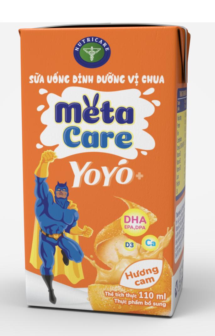 METACARE YOYO + HƯƠNG CAM