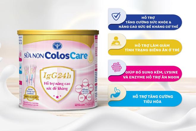 Sữa non ColosCare IgG24h